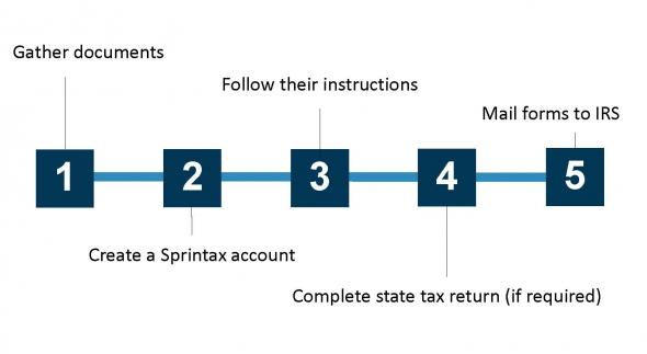 Sprintax timeline